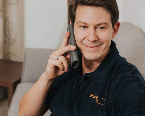 Tobias Birner, Pflegedienstleiter der Tagespflege